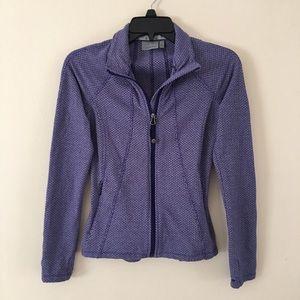 Athleta Criss Cross Hope Jacket M Purple